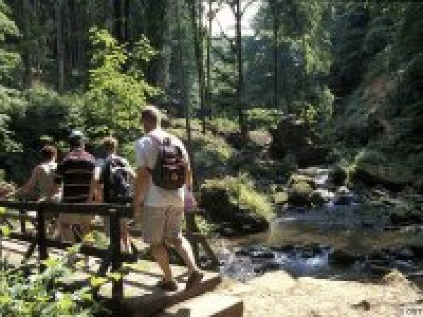 Single Reis door Wandelen Kleine Luxemburger Schweiz